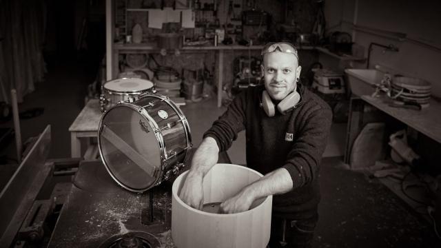 Christoph Anlauf, Drumbuilder from Switzerland