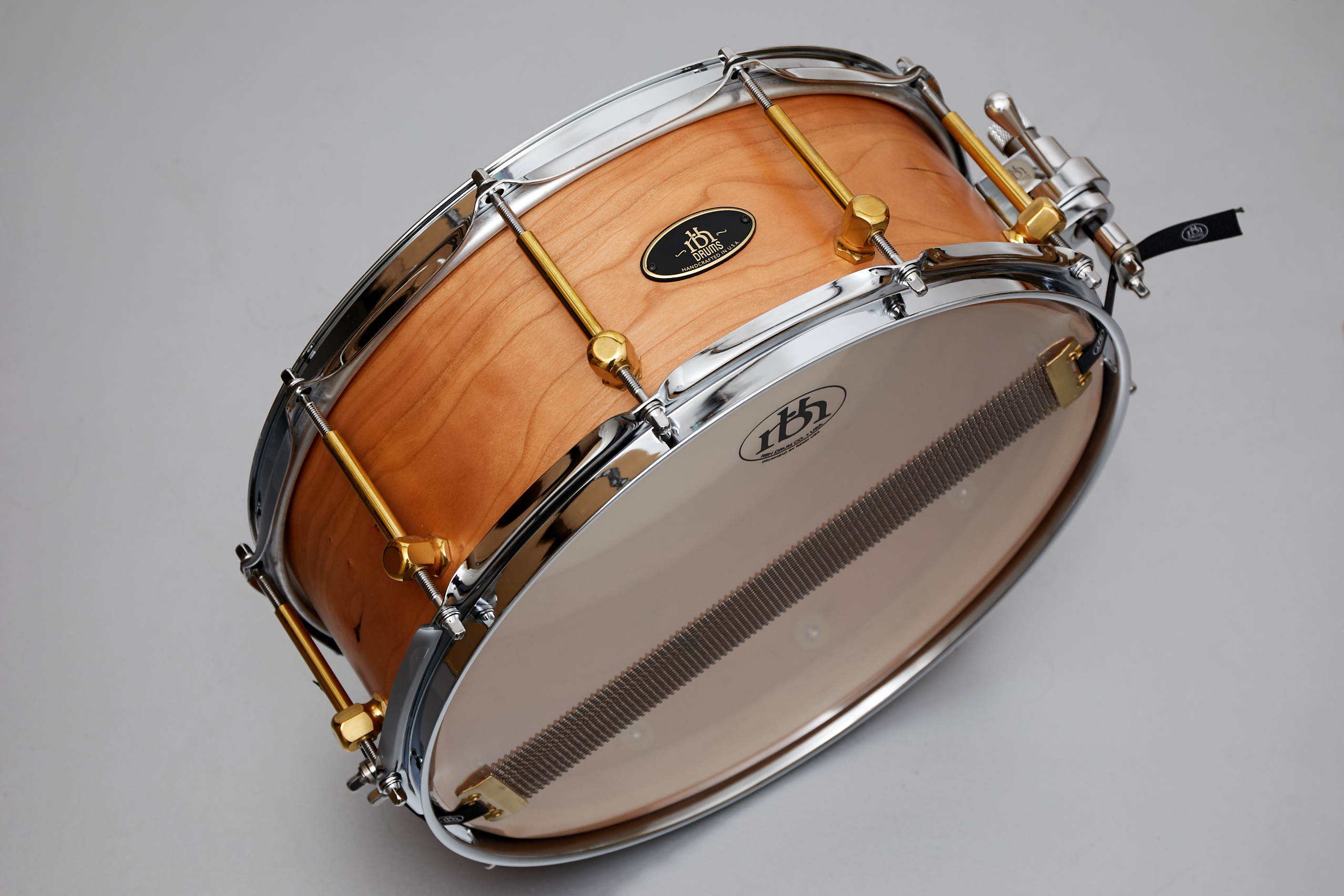 RBH Drums Snare Drums Steambent Cherry Wood