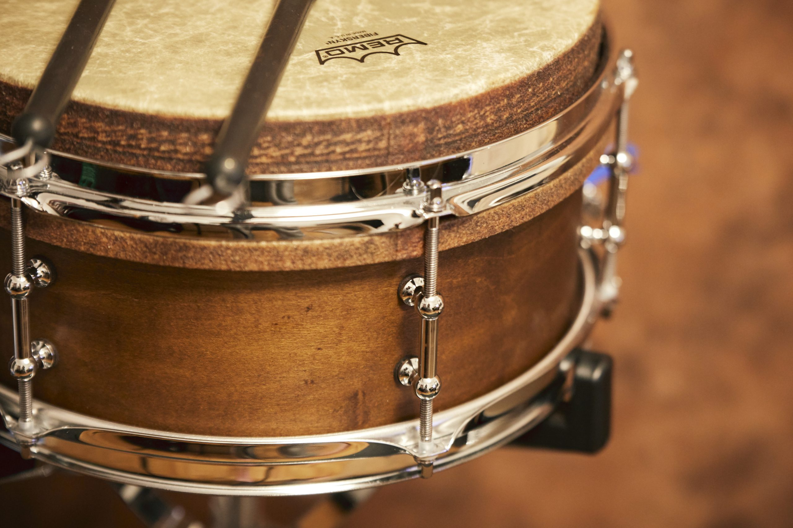 Klangmacherei | Drumset Percussion Djembe Snare with Brushes