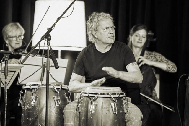 Uwe Ochsenknecht, Percussion, Live Music, Konzert