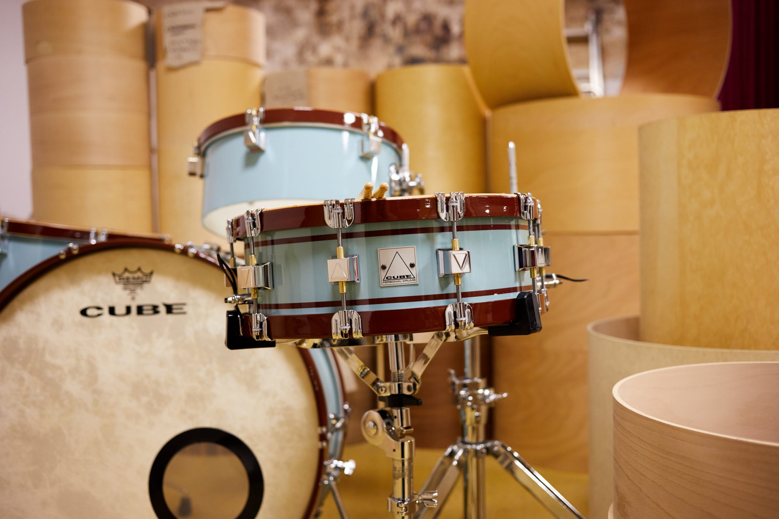 Cube Drums Plauen Drumset Drumshells