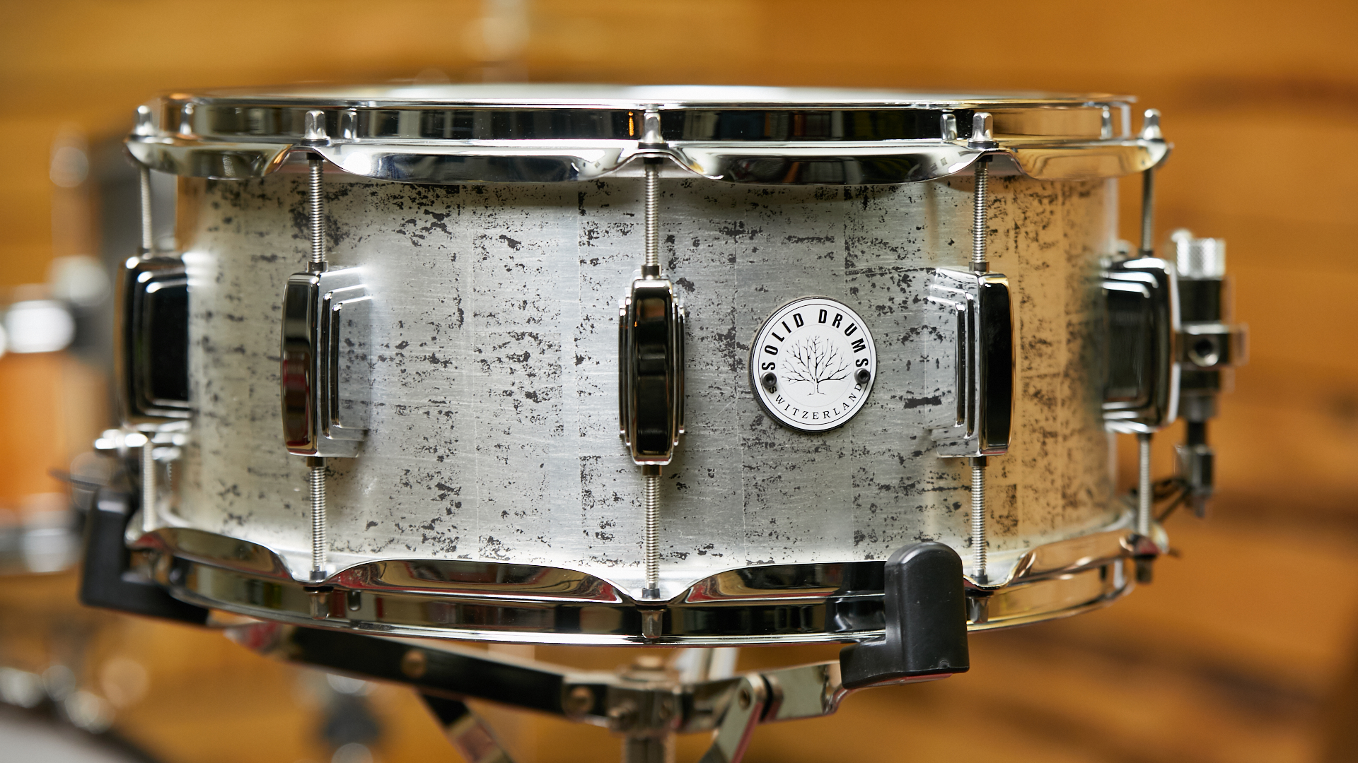 Solid Drums, Stave Drums, Maple Shell, Switzerland