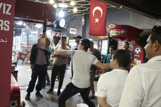 Street, Boxing, Wide Angle Lens, Turkey, Istanbul